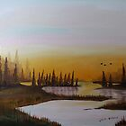 Tamarack Marsh by Jack G Brauer