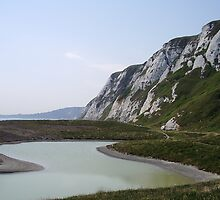 Samphire Hoe in White Cliffs Country by FelicityB