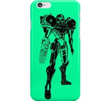 Samus Stencil iPhone Case/Skin