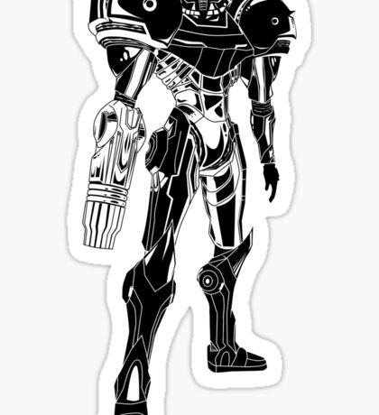 Samus Stencil Sticker