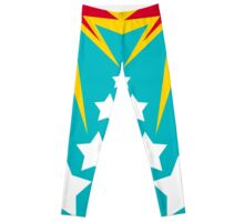 Wonder Woman Style Leggings Leggings