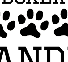 Boxer Grandma Sticker