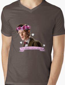 Madman With A Box Mens V-Neck T-Shirt