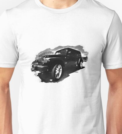 Black Jeep Unisex T-Shirt