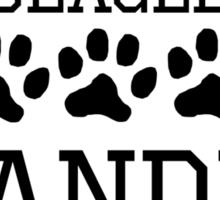 Beagle Grandma Sticker