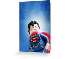Lego Superman - Custom Artwork & Photography Greeting Card