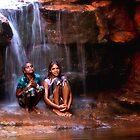 Indulkana Rockhole by Stephen Permezel