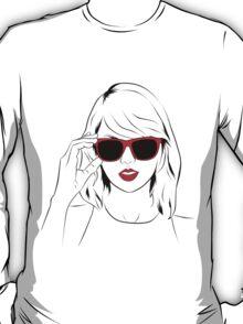 Sunglass Swift- RED T-Shirt