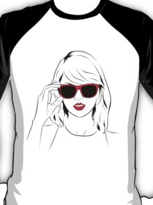 Sunglass Swift- RED T-Shirt