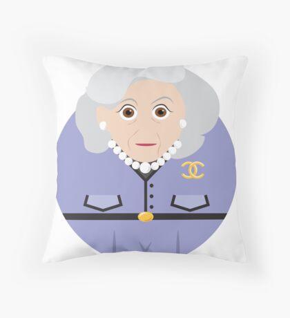 NEW YORK STORIES: GARGOYLES OF NY CHARACTERS #4 Throw Pillow