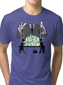 working for the man Tri-blend T-Shirt