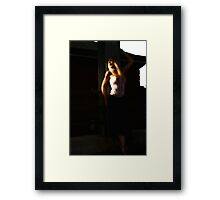 Waiting with Desire Framed Print