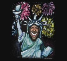 Obama New Year by Kevin Middleton