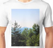 pilot mountain as seen from parkway Unisex T-Shirt