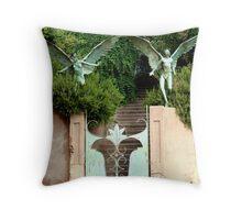 Bisbee Angel Gate Throw Pillow