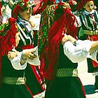 Young Greek American Folk Dancers. by cjkuntze