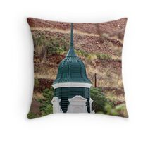 Bisbee cathedral Throw Pillow