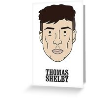 Peaky Blinders, Tommy Shelby Greeting Card