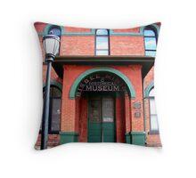 Bisbee museum Throw Pillow