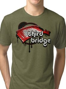 third bridge Tri-blend T-Shirt