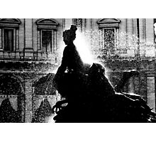 Rome fountain Photographic Print