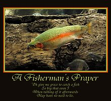 A Fisherman's Prayer by Ryan Houston