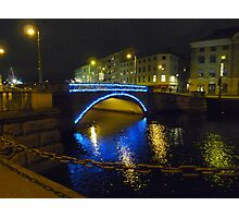 Blue Bridge Photographic Print