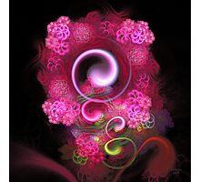 'Nestled in Lightflowers' Photographic Print