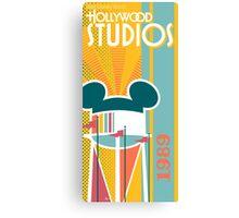 Hollywood Studio - 1989 Canvas Print