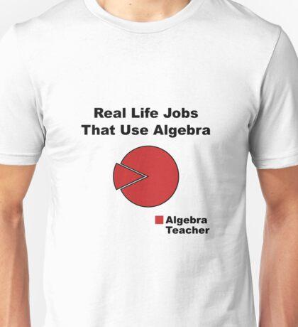 Algebra Teacher Unisex T-Shirt