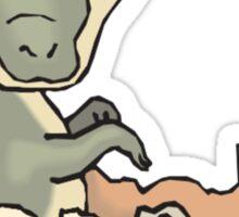 Alligator Hatchling Sticker