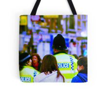 Uk cops Tote Bag