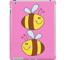 Cute Bumble Bee Drawing  iPad Case/Skin