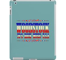 Vintage woodstock iPad Case/Skin