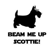 Beam Me Up Scottie Photographic Print