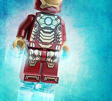 Iron Man Lego Artwork - Custom Photography by CBDigitalGoods