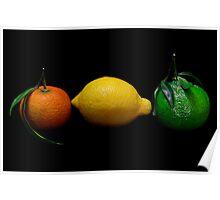 LOL! ( lemon,Orange,Lime) Poster