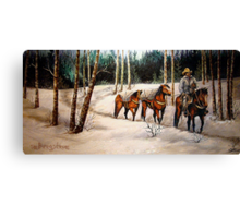 """""""Coming Down From Black Mountain"""" Canvas Print"""