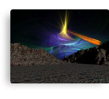 Asteroid Valley  02 Canvas Print