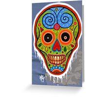 Sugar Skull Alpha Greeting Card