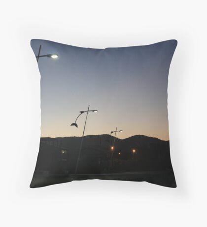 barra de lagoa, brazil Throw Pillow