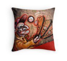 Swingin' Punch Throw Pillow