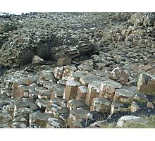 My weekend trip to Giant's Causeway in Northern Ireland. Photographic Print