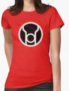Red Lantern Corps Womens Fitted T-Shirt