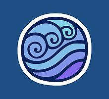 Waterbending Symbol by DrGraveRobber