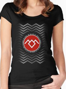 Twin Peaks - Fire Walk with me Women's Fitted Scoop T-Shirt