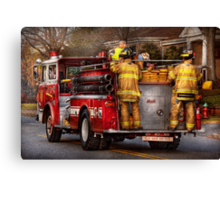 Fireman - Metuchen Fire Department  Canvas Print