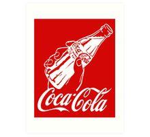 COCA-COLA 10 Art Print