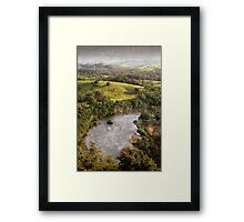 View from Brushy Cutting Framed Print