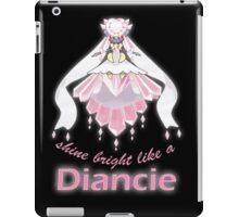 Shine Bright Like a Diancie iPad Case/Skin